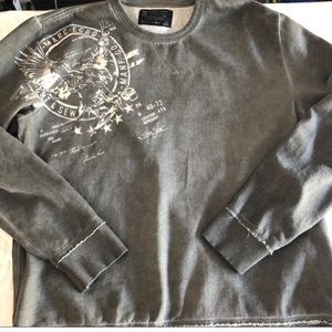 5/$25 Men's crew neck sweater